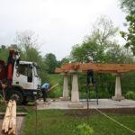 Construcción de hórreos - Paso 10