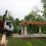 Construcción de hórreos - Paso 11