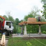 Construcción de hórreos - Paso 13