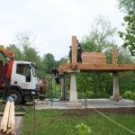Construcción de hórreos - Paso 15