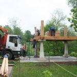 Construcción de hórreos - Paso 17