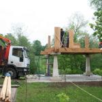 Construcción de hórreos - Paso 18