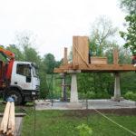 Construcción de hórreos - Paso 19