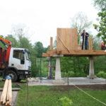 Construcción de hórreos - Paso 20