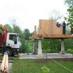 Construcción de hórreos - Paso 21