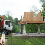Construcción de hórreos - Paso 22