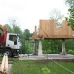 Construcción de hórreos - Paso 23
