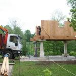 Construcción de hórreos - Paso 24