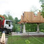 Construcción de hórreos - Paso 25