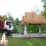 Construcción de hórreos - Paso 26