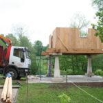Construcción de hórreos - Paso 27