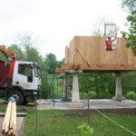 Construcción de hórreos - Paso 28