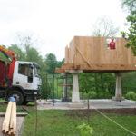 Construcción de hórreos - Paso 29