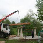 Construcción de hórreos - Paso 3