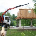 Construcción de hórreos - Paso 30