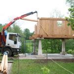 Construcción de hórreos - Paso 31