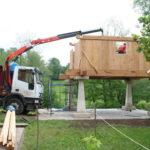 Construcción de hórreos - Paso 32