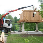 Construcción de hórreos - Paso 33