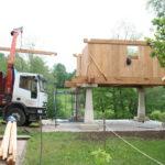 Construcción de hórreos - Paso 34