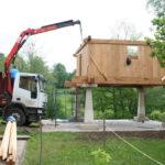 Construcción de hórreos - Paso 35