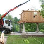 Construcción de hórreos - Paso 37