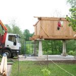 Construcción de hórreos - Paso 38