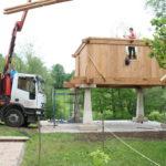 Construcción de hórreos - Paso 39