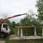 Construcción de hórreos - Paso 4