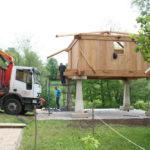 Construcción de hórreos - Paso 40
