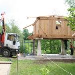 Construcción de hórreos - Paso 41