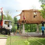 Construcción de hórreos - Paso 42