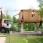 Construcción de hórreos - Paso 43