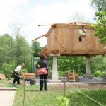 Construcción de hórreos - Paso 44