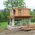 Construcción de hórreos - Paso 47