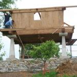 Construcción de hórreos - Paso 51