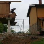 Construcción de hórreos - Paso 52