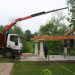Construcción de hórreos - Paso 6